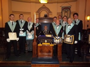 Freemasons Lodge in London